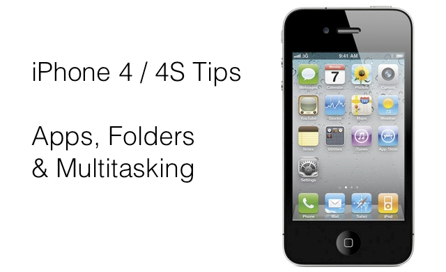 iphone app folder iphone 4 4s tips apps folders and multitasking 11594