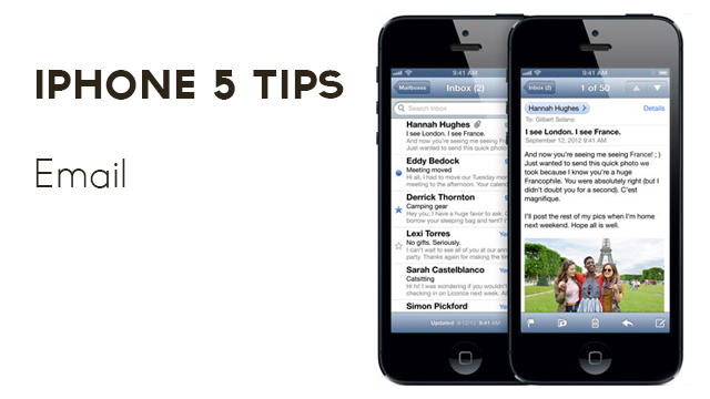iPhone 5 Tips – Email