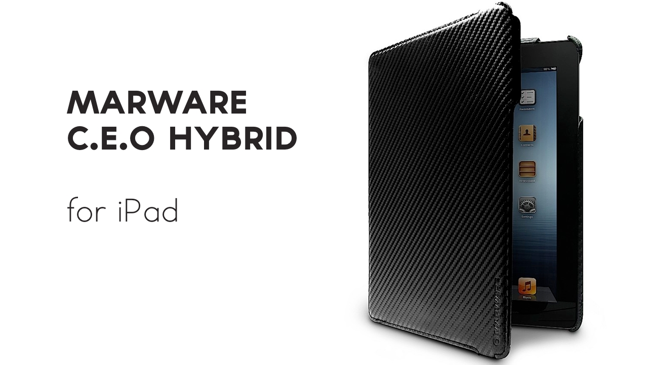marware ceo hybrid for iPad review