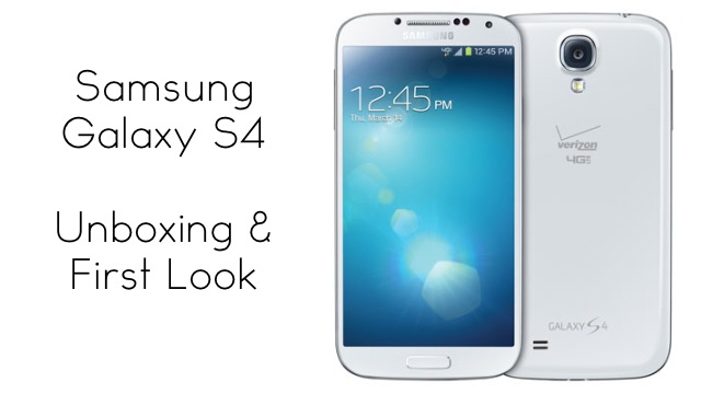 galaxy s4 unboxing and first look zollotech rh zollotech com Samsung Galaxy S4 Verizon samsung galaxy s4 user manual verizon pdf