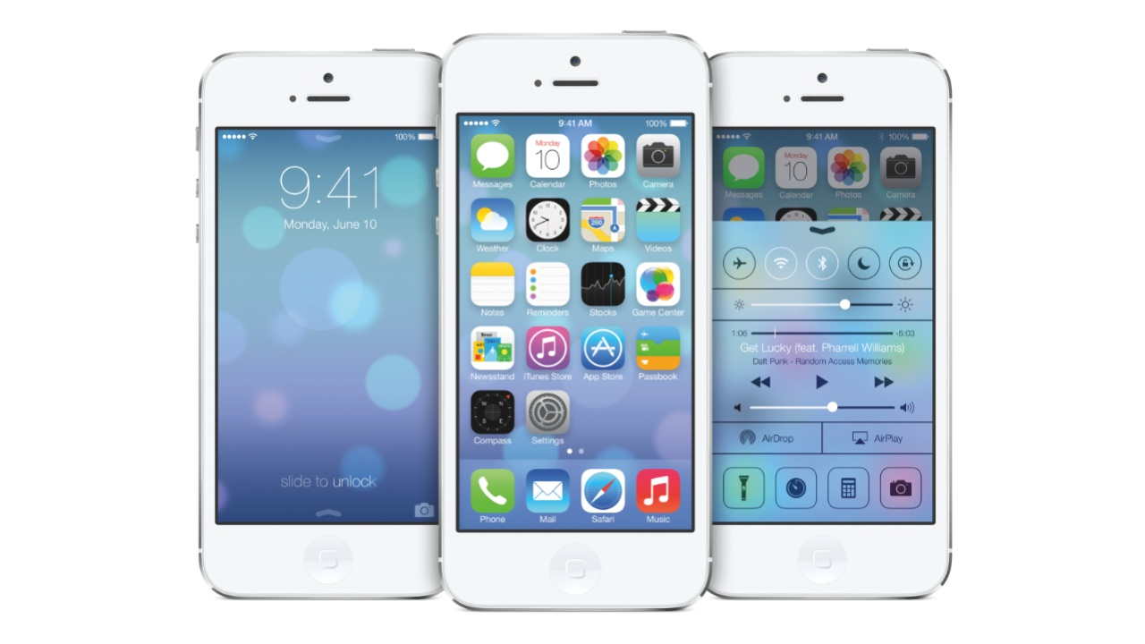 iOS7 First Look