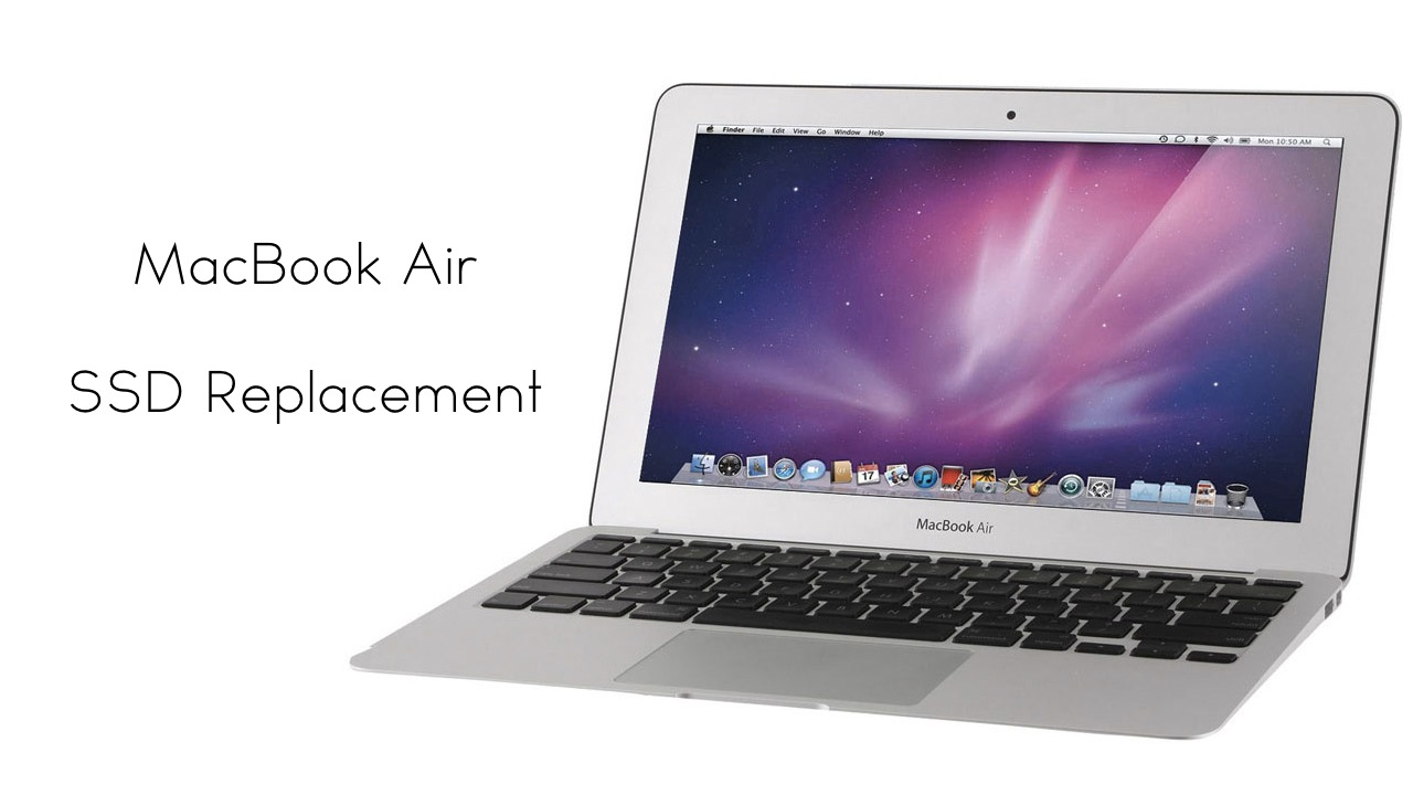 macbook air ssd replacement