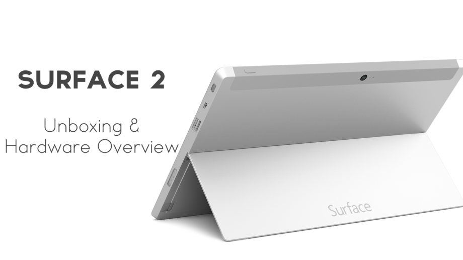Surface 2 unboxing and hardware overview