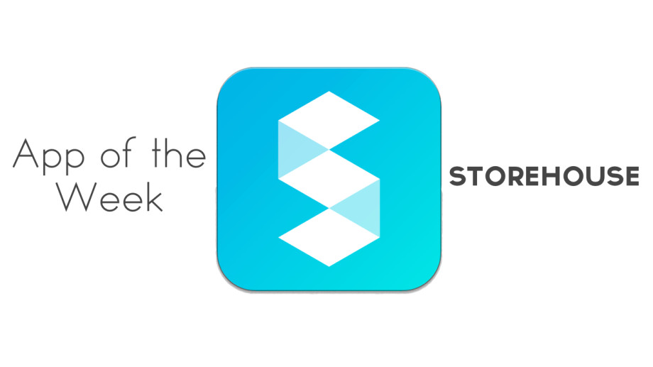 app of the week - storehouse
