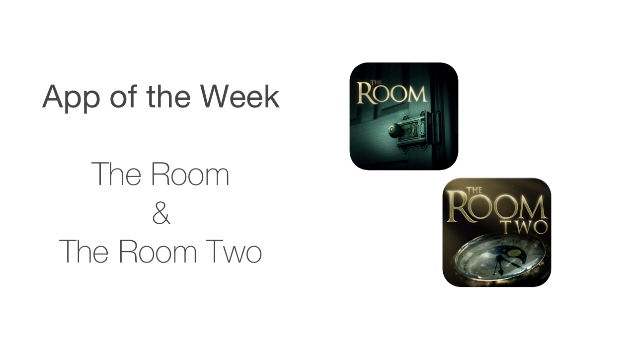 app of the week - the room and the room two white