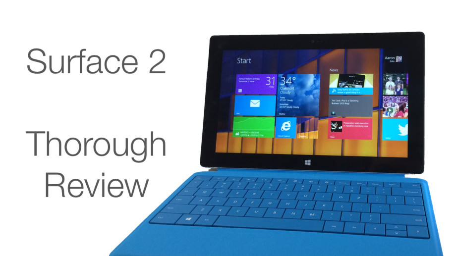 surface 2 thorough review