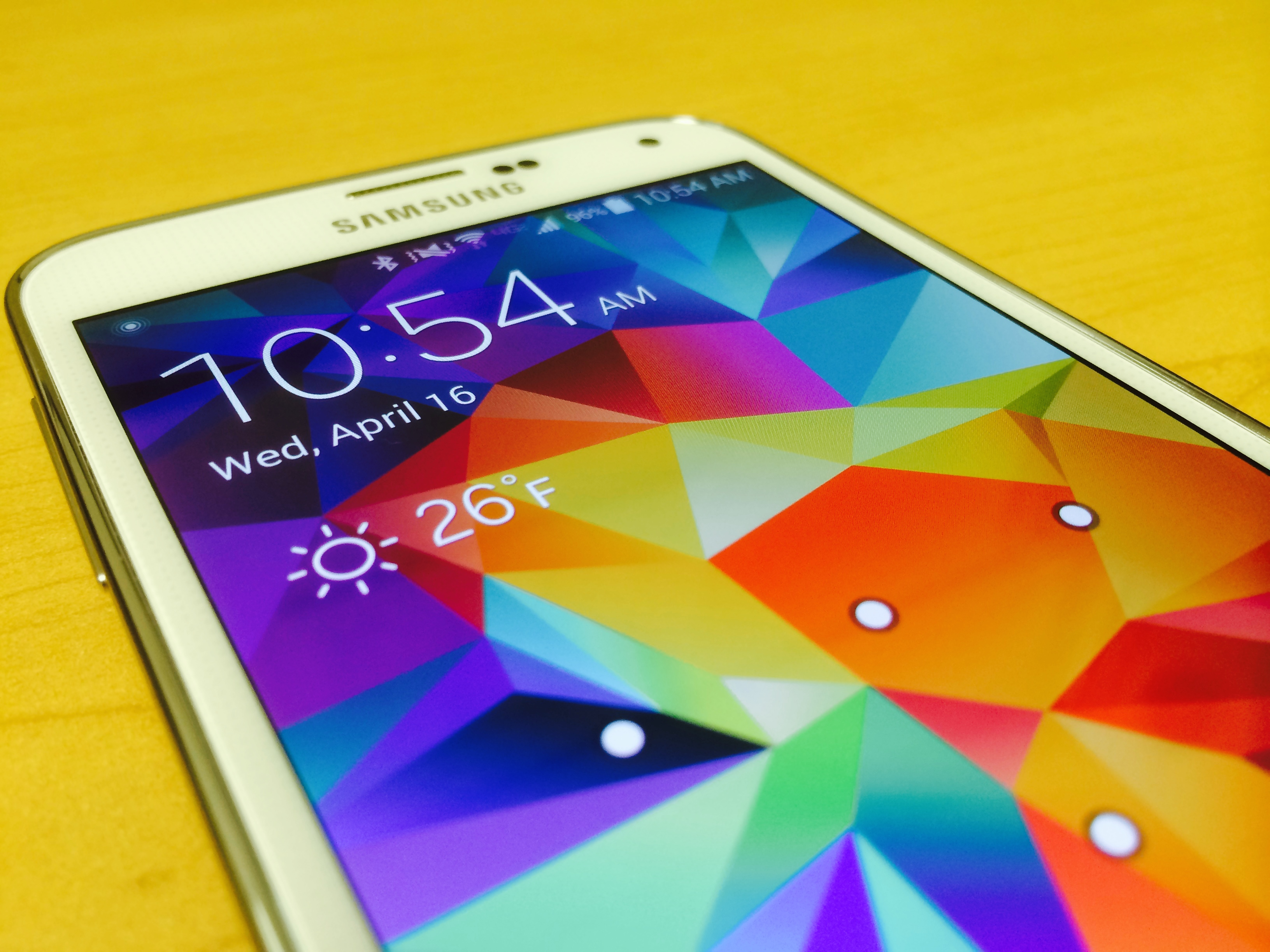 Samsung Galaxy S5 – Unboxing and First Look