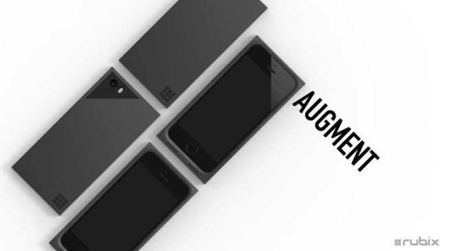 Rubix Augment Case and Battery for iPhone 5/5s
