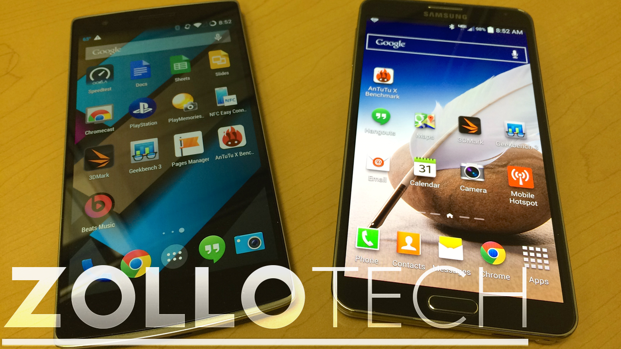 Galaxy Note 3 vs ONEPLUS One – Benchmark Shootout