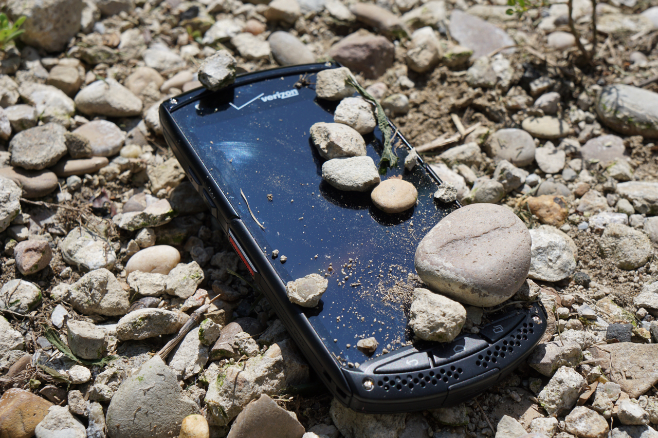 The First Sapphire Phone – Kyocera Brigadier Review