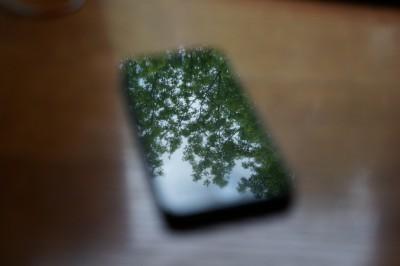 iPhone-tree-blur