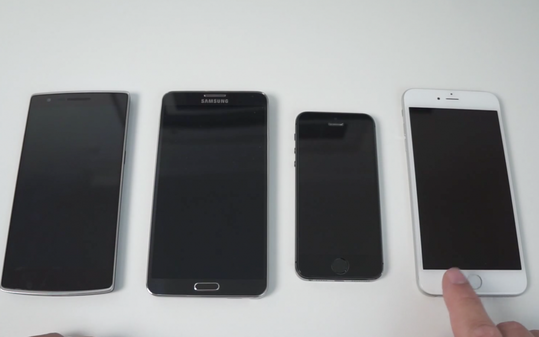 iPhone 6 Plus vs ONEPLUS One vs Galaxy Note 3 vs iPhone 5s – Benchmark Shootout