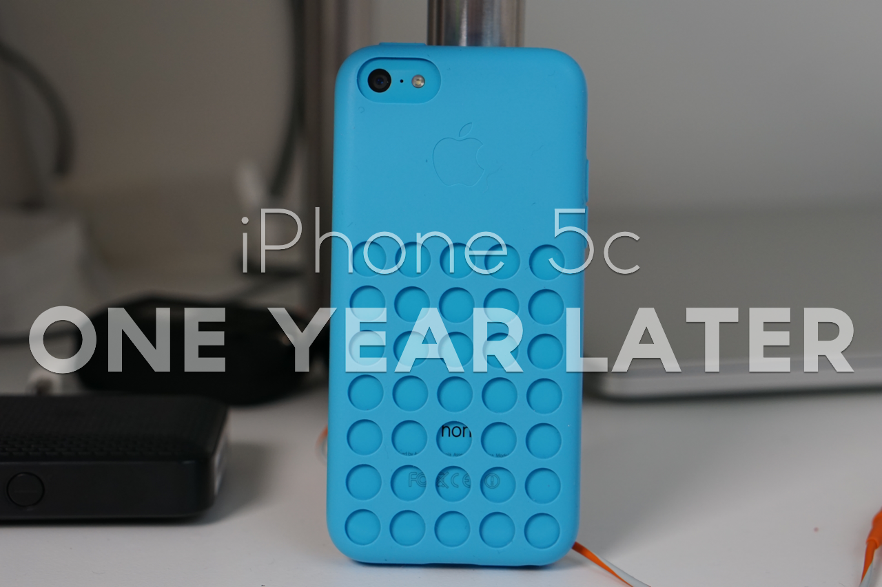 iPhone 5c – One Year Later
