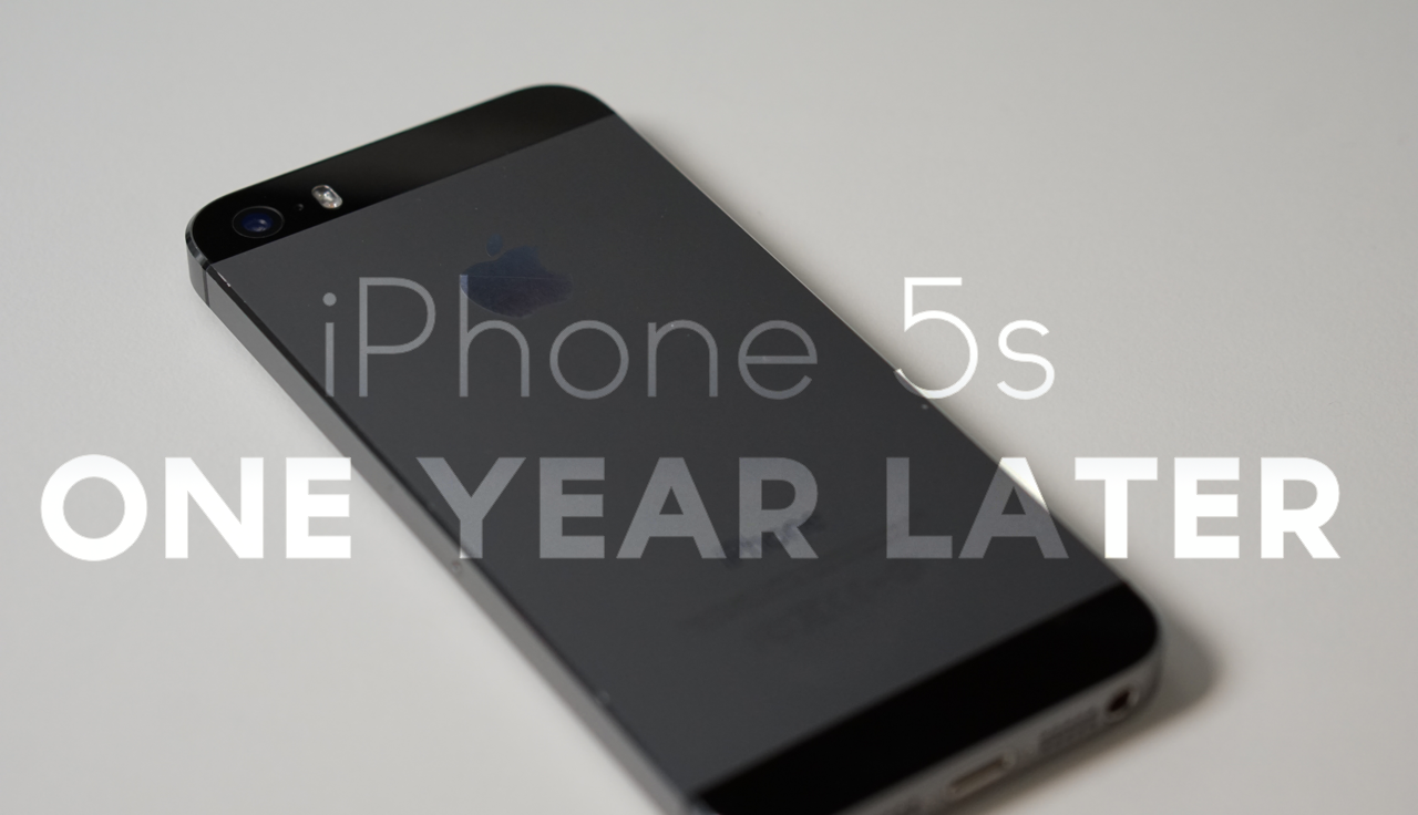 iPhone 5s – One Year Later