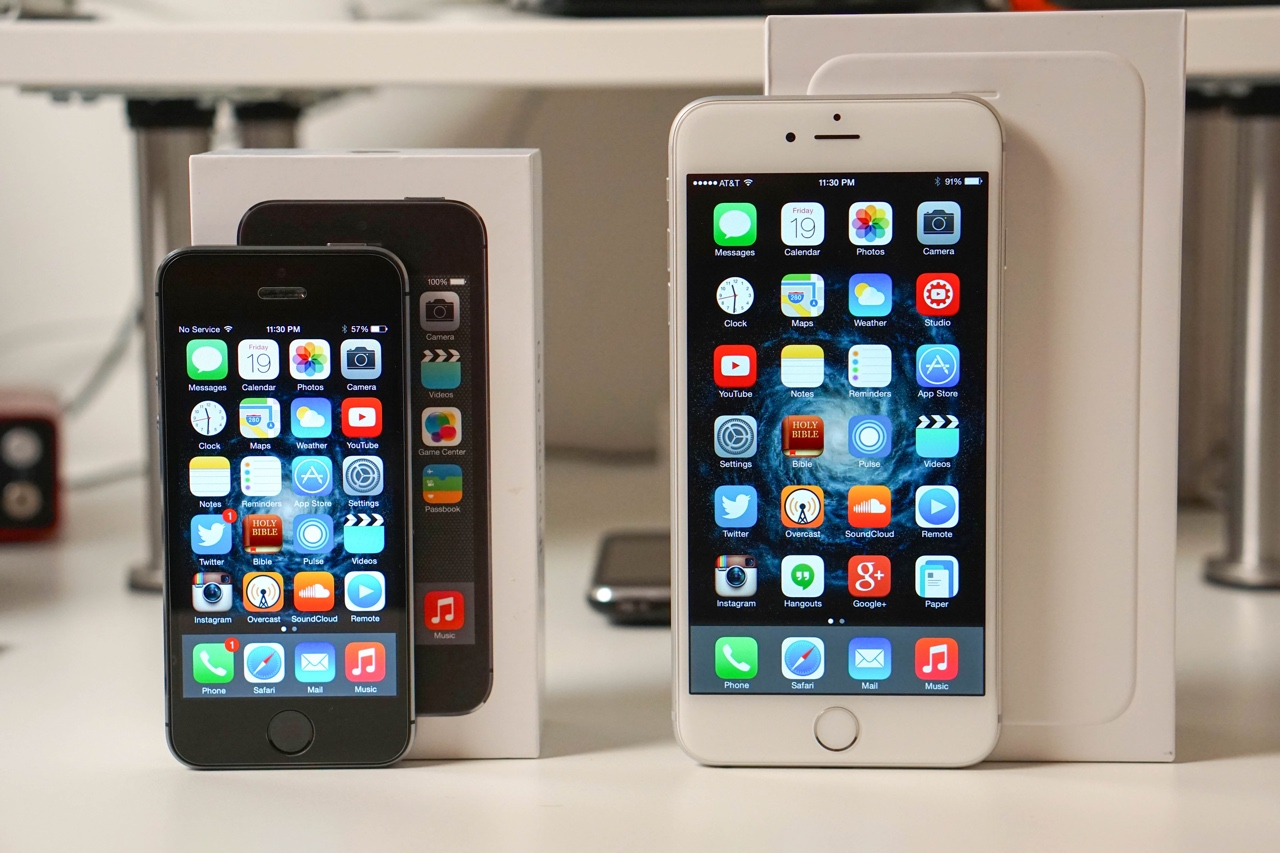 iPhone 6 Plus vs iPhone 5S – Speed Comparison