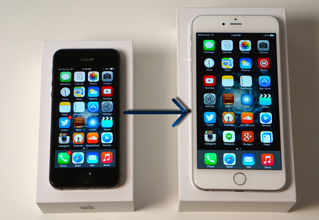 How to Backup Your Old iPhone and Restore to iPhone 6