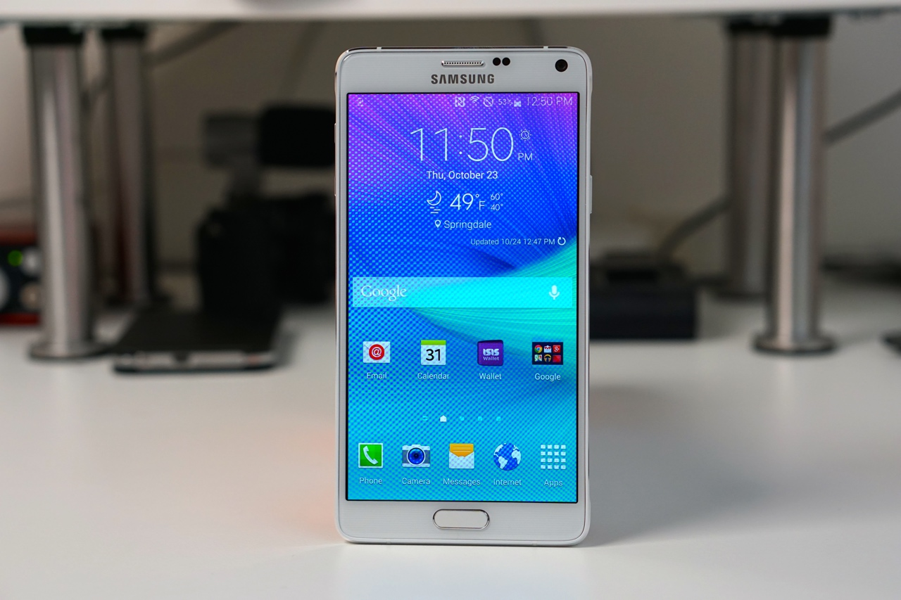 Galaxy Note 4 Unboxing and First Look