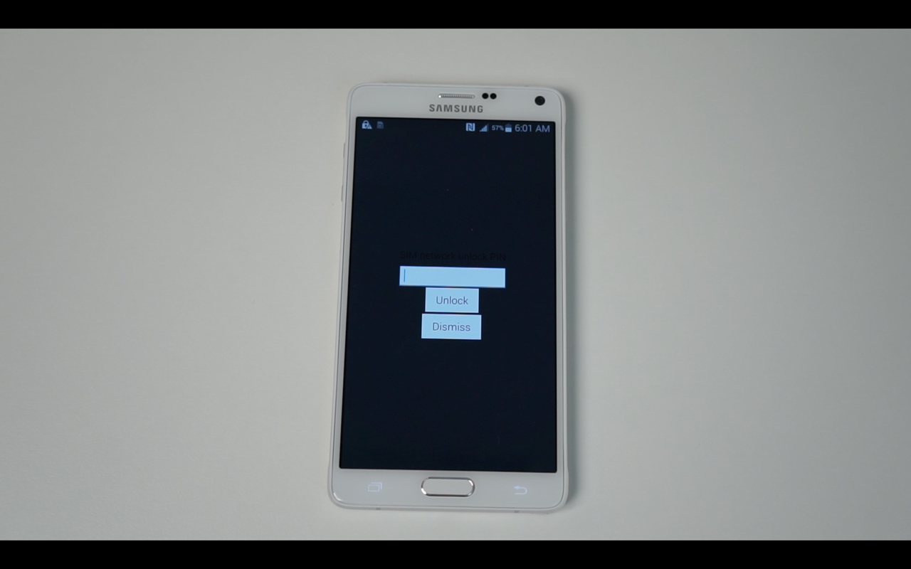 How to Unlock The Galaxy Note 4