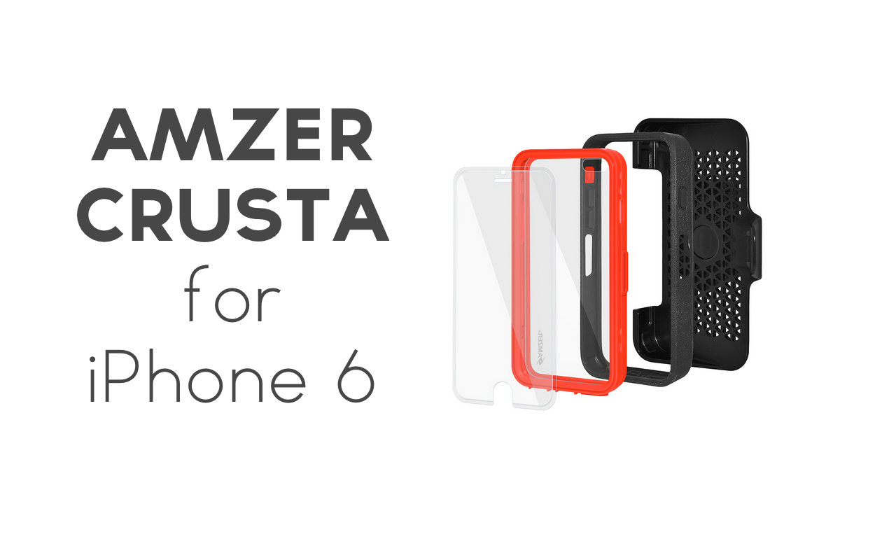 Amzer Crusta Case for iPhone 6 Review