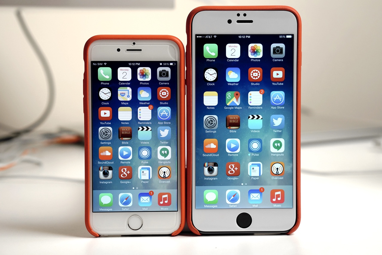 iPhone 6 or iPhone 6 Plus – Which Would You Choose?