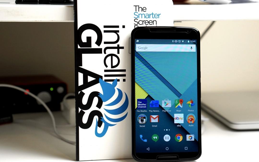 intelliGLASS Screen Protector for Nexus 6