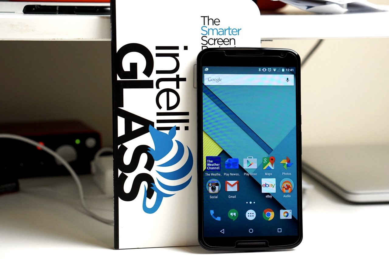 intelliGLASS Screen Protector for Nexus 6