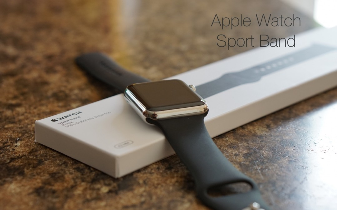 Apple Watch Sport Band – Review