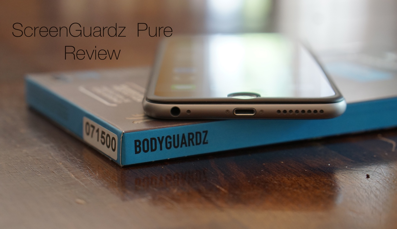 BODYGUARDZ Screen Protector for iPhone 6 Plus