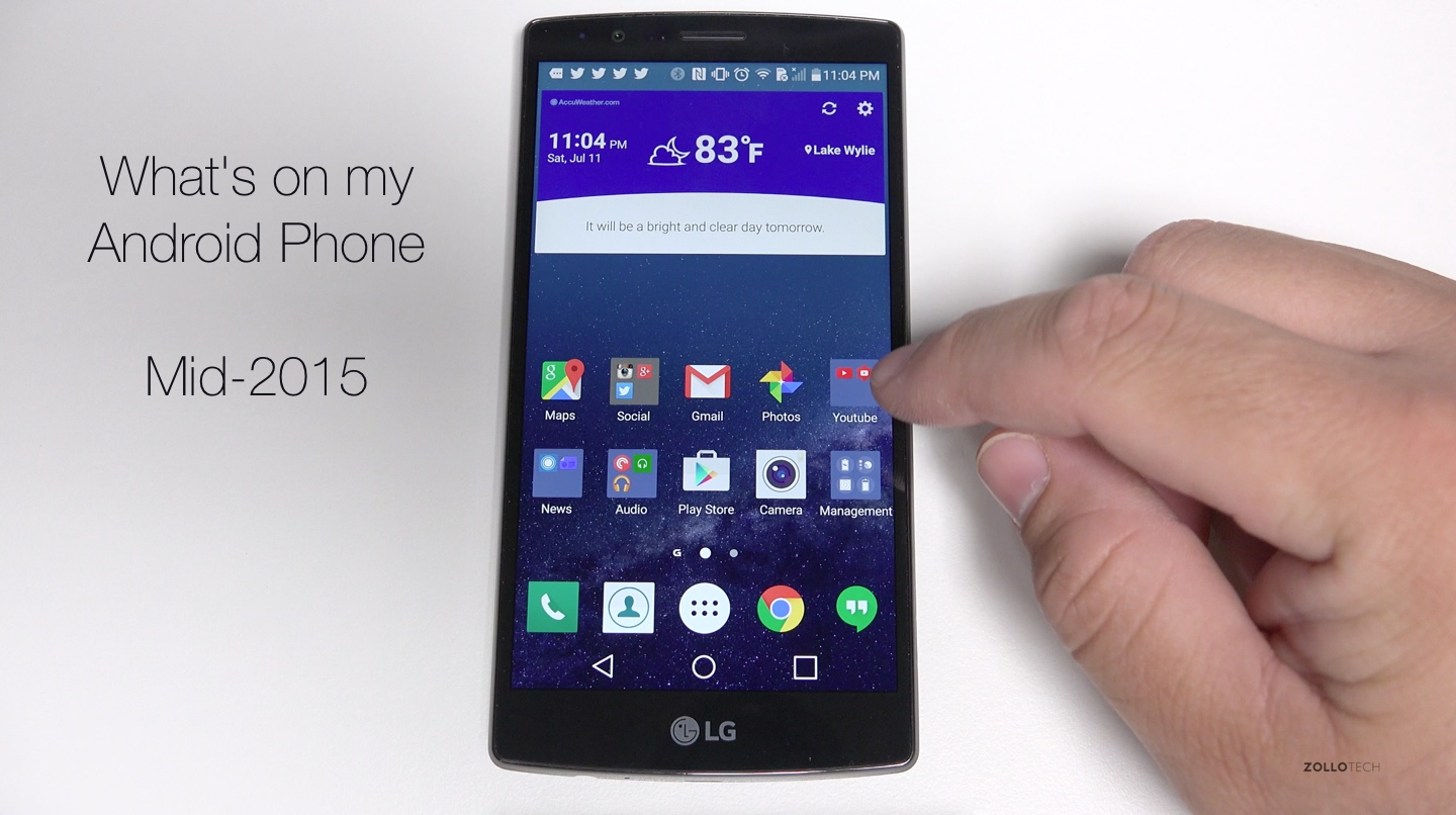 What's on My Android Phone – Mid 2015