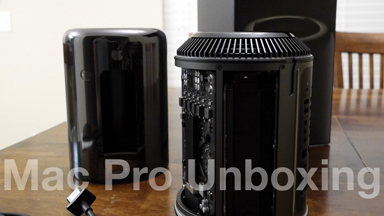 Mac Pro Unboxing – Apple at it's best?