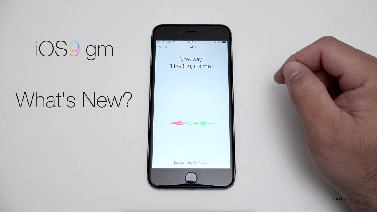 iOS 9 GM – Overview
