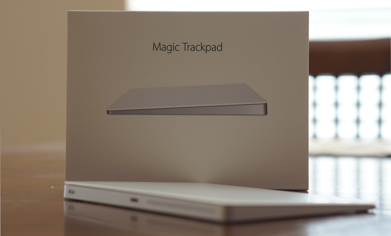 Magic TrackPad 2 – Force Touch on The Desktop