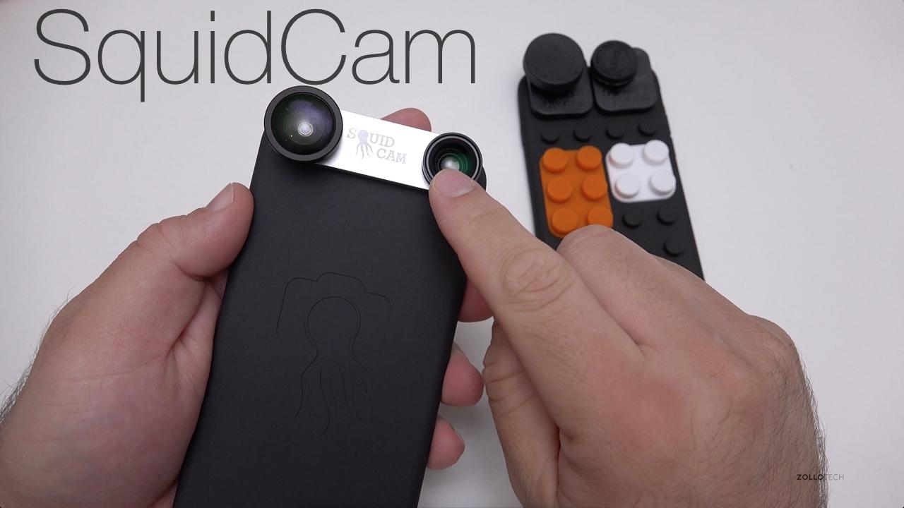 SquidCam for iPhone 6s and 6s Plus