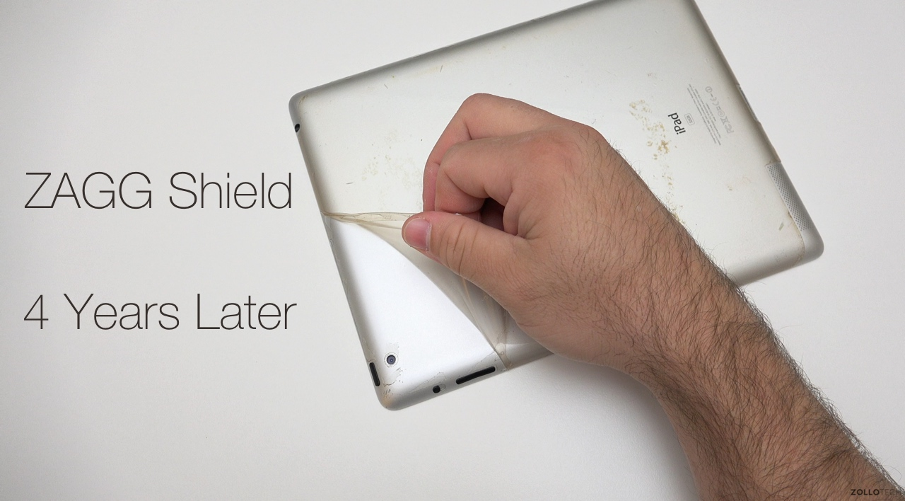 ZAGG Shield for iPad 2 – Long term test