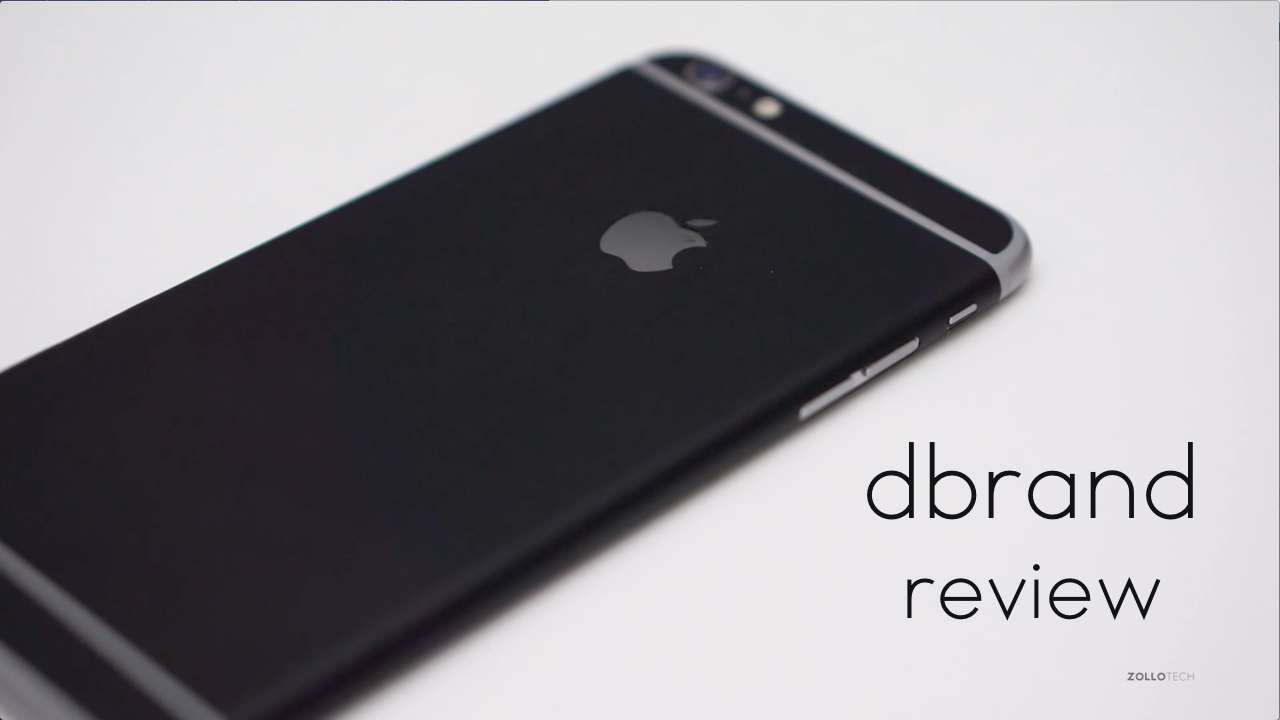 dbrand Skin for iPhone 6s Plus Review