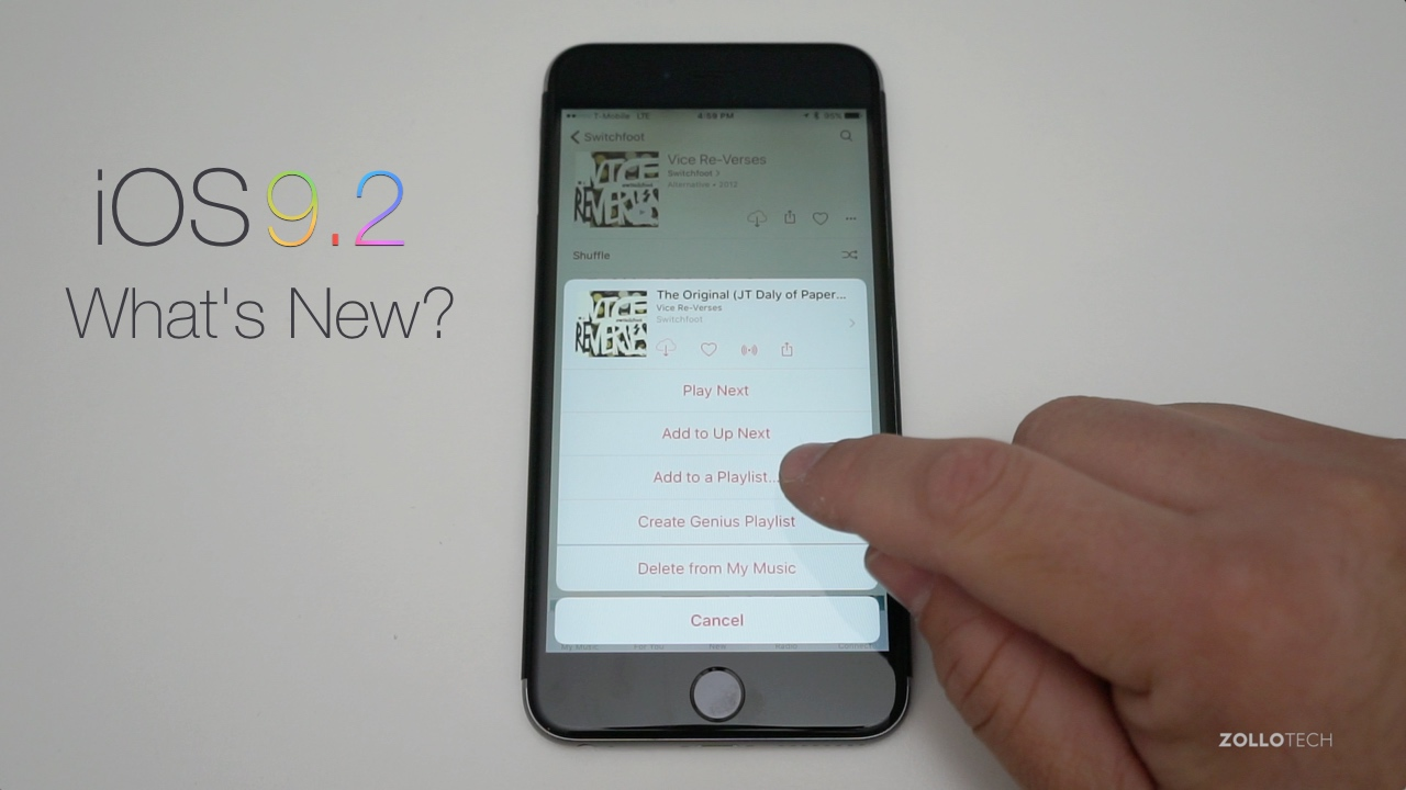 iOS 9.1 Update – What's New?
