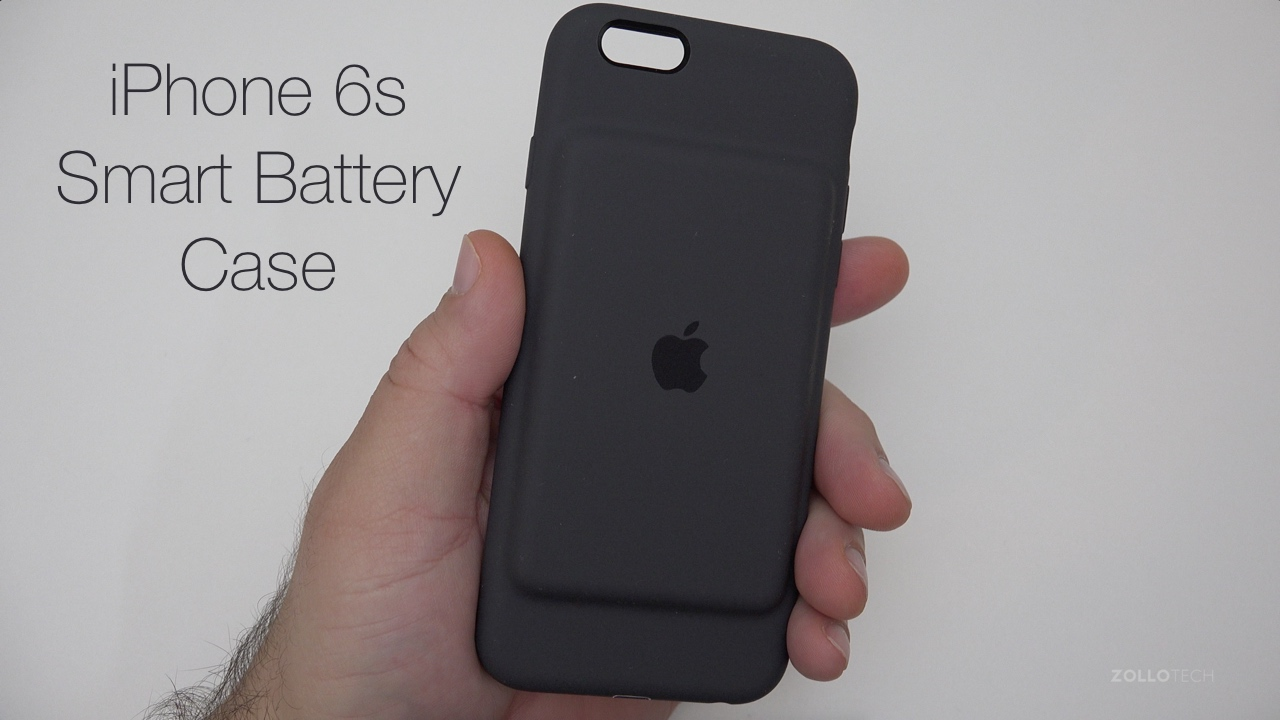 iPhone 6s Smart Battery Case Unboxing and Review