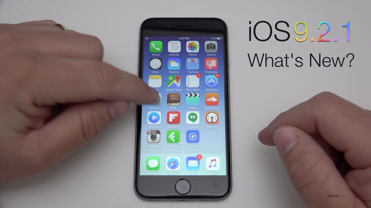 iOS 9.2.1 – What's New?