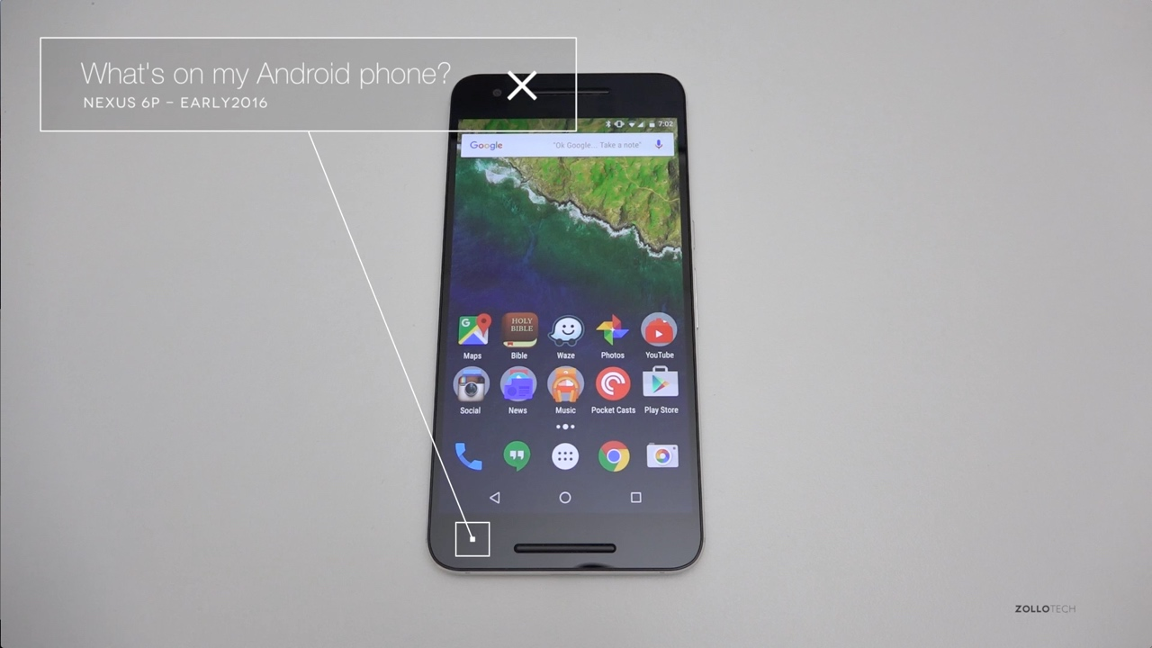 What's on my Android Phone ? – Early 2016