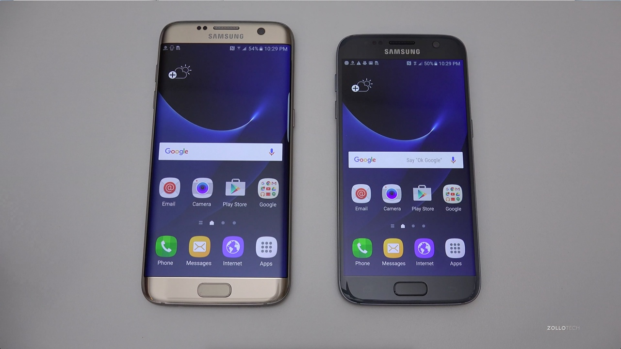 Samsung Galaxy S7 & S7 Edge – Unboxing & Setup