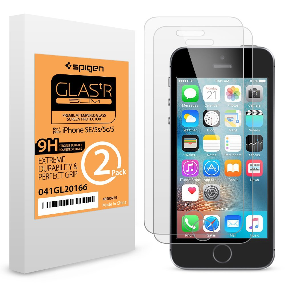 Deal of the Day – ($7.99) iPhone SE Glass Screen Protector (2 Pack)