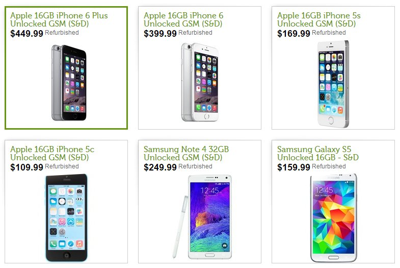 Deal of the Day – Great Prices on Apple and Samsung Phones