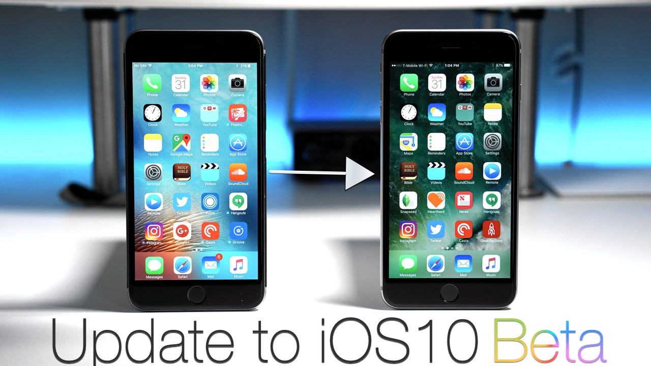 How to install the iOS 10 Beta