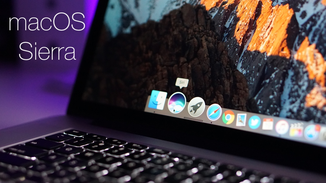macOS Sierra is Out! – What's New?