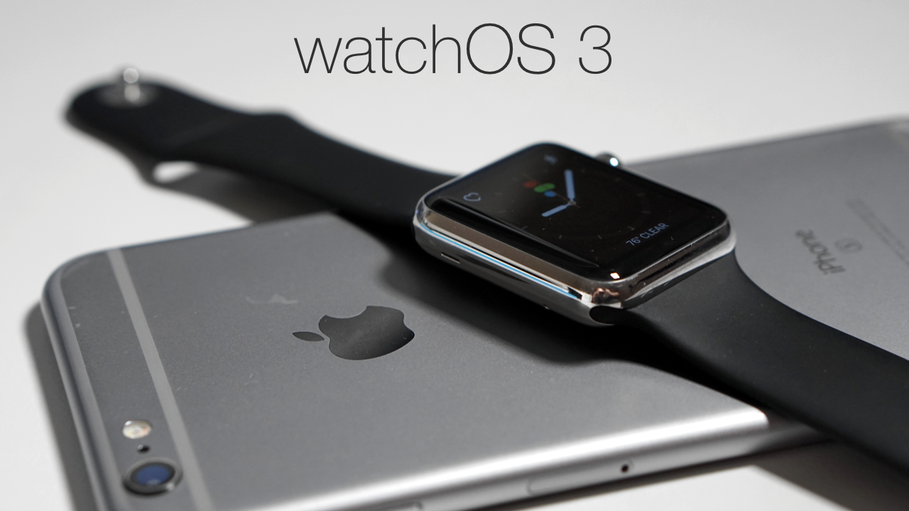 watchOS 3 – What's New?