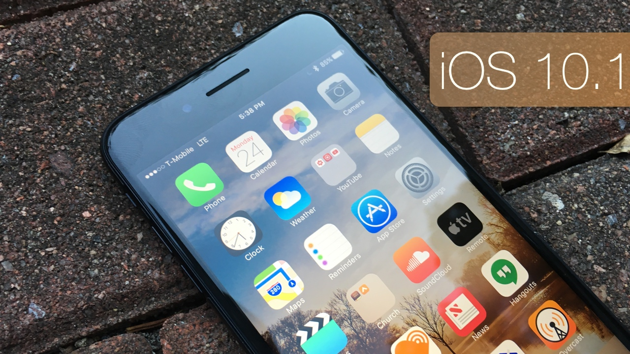 iOS 10.1  – What's New?