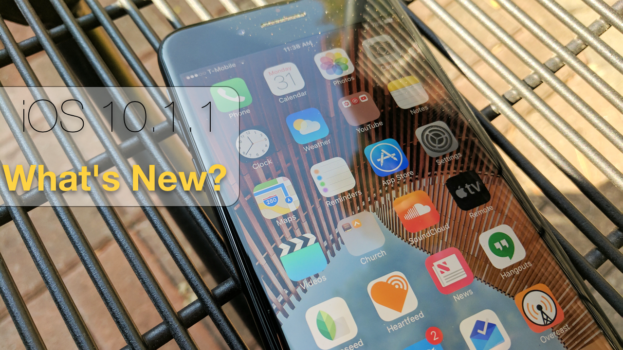 iOS 10.1.1 is Out! – What's New?
