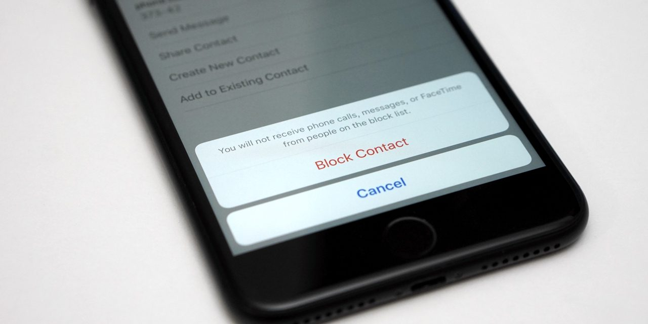 How To Block Someone On iOS 10