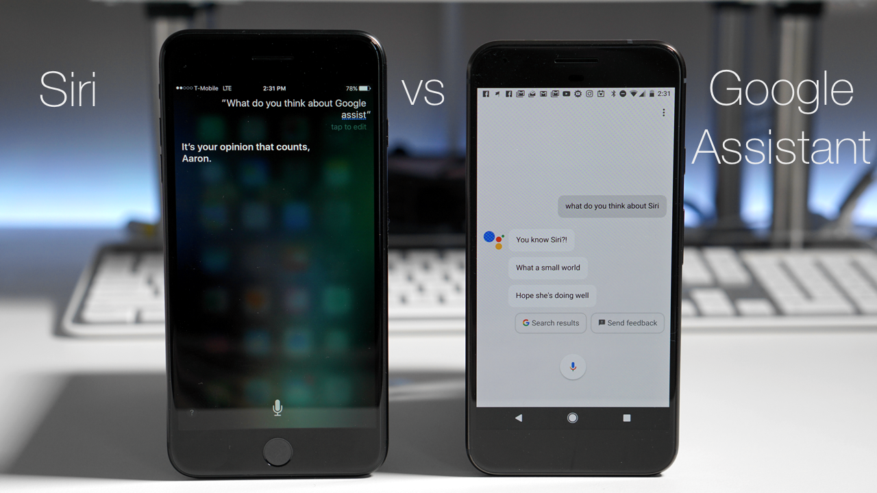 Google Assistant vs Siri – Late 2016 Edition