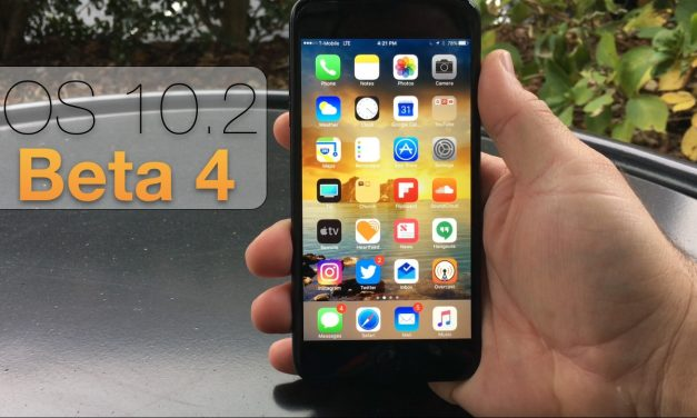 iOS 10.2 Beta 4 – What's New?
